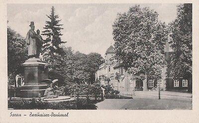 AK Sorau (Zary) - Zweikaiser-Denkmal