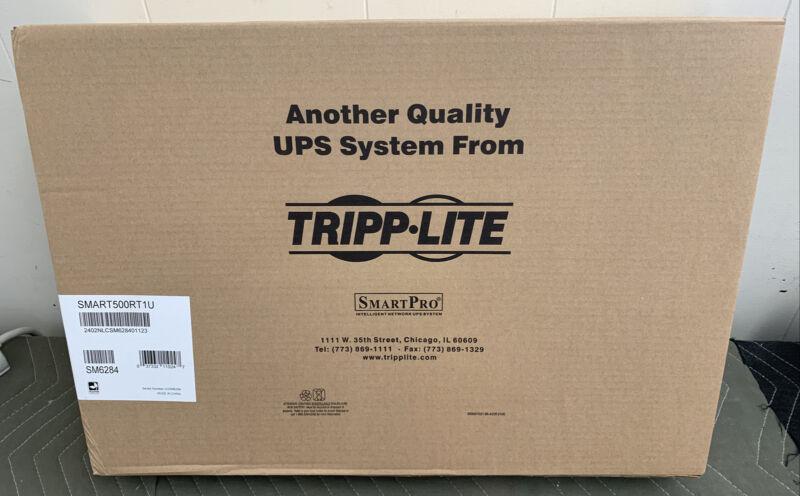 SMART500RT1U Tripp Lite UPS SmartPro 120V 500VA 300W Line-Interactive UPS 1U NEW