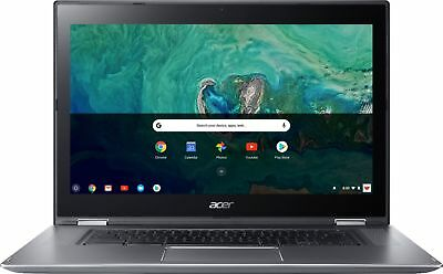 """Acer - Spin 15 2-in-1 15.6"""" Touch-Screen Chromebook - Intel"""