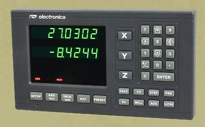 2 Axis El300 Magnetic Digital Readout Lathe 8x30 Dro Kit W 6 Year Usa Warranty