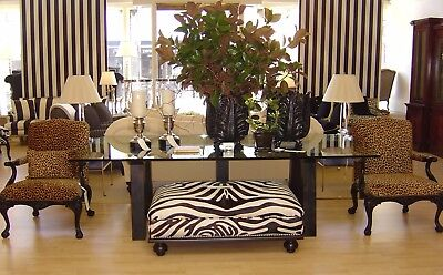 RALPH LAUREN North Atlantic Dining Table Ebony Base /Glass top included for -