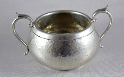 VINTAGE HAMMERED PEWTER BOWL
