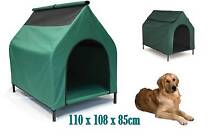 NEW Large Elevated Pet House Dog Bed Raised Trampoline 110cm Redcliffe Redcliffe Area Preview