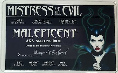 Maleficent - Angelina Jolie - Mistress of All Evil - License - Novelty