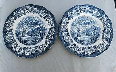 2 ROYAL WARWICK ENGLAND LOCHS OF SCOTLAND BLUE 10