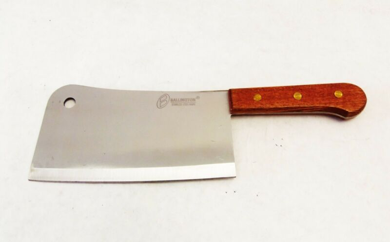 "Heavy Duty 15.25 inch (9"" Blade ) Meat Cleaver Chopper Butcher Chef Hunter Knife"