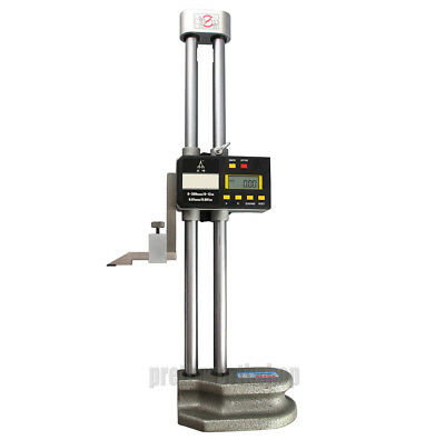 0-600mm 24 Digital Lcd Display Electronic Dual Beam Height Gage High Precision