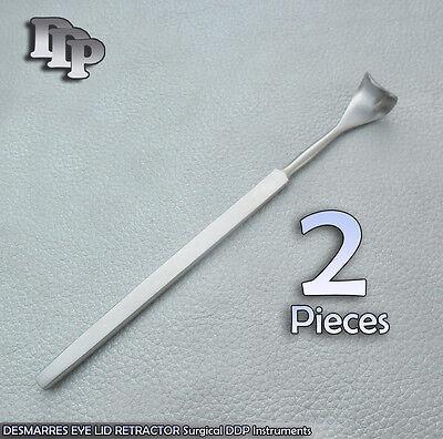 2 Desmarres Lid Retractor 11mm Surgical Instrument