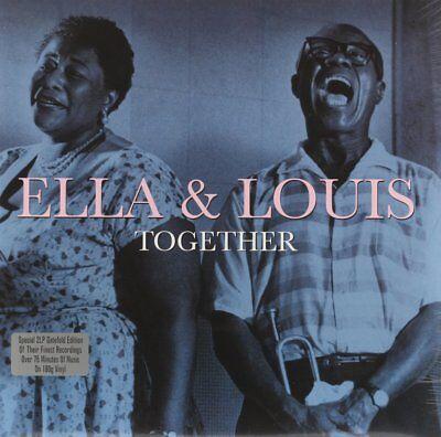 Ella Fitzgerald & Louis Armstrong - Together Vinyl Record/LP *NEW*