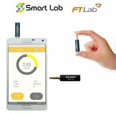 Smart Geiger Nuclear Radiation Detector Counter For iOS iPhone Android Phone