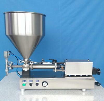 New Peanut Butter Filling Machine Sauce Paste Filler 10-100ml