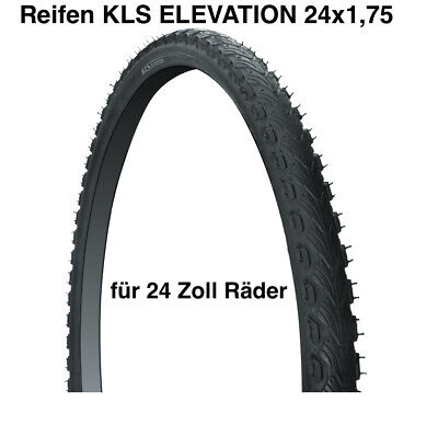 Neumáticos para Bicicleta Kls Elevación 24x1, 95 de Montaña 24 Pulgadas Niños