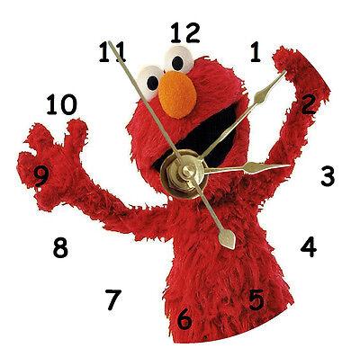 Sesame Street Elmo Cd Clock