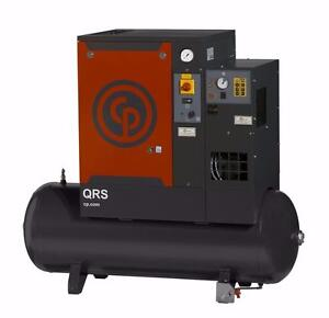 IN STOCK!! New 10HP Chicago Pneumatic Rotary Screw Compressor - SPECIAL PRICE