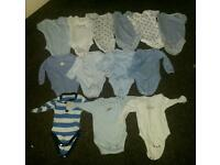 Baby boy 3-6 months body vests