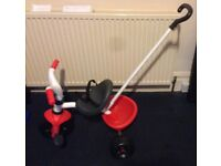 Smoby Baby Todler smart tricycle in great condition