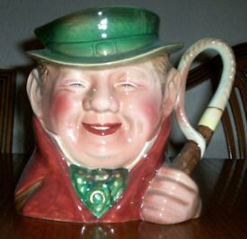 For Sale, Beswick Character jug, Tony Weller.