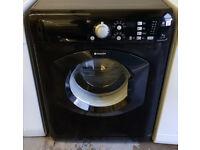 £140 Black Hotpoint 7KG Washing Machine - 6 Months Warranty