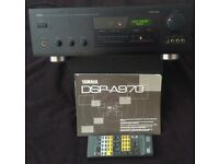 Yamaha DSP-A970 cinema amplifier with phono input 100w RMS per chanel