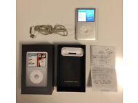 Apple iPod classic 6th Generation Silver (80GB)