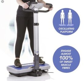 New vibropower power fitness plate