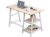 Home Office Desk Computer Table with Shelf