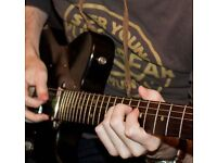 Professional guitar lessons available (17 years teaching experience)!