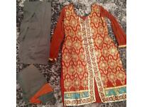 Indian Salwar kameez Size 10-12
