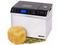 Stainless Steel Digital Bread Maker With Scales, Automatic Ingredients Nut And Raisin Dispenser