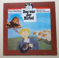 Peter Härtling Das war der Hirbel   Hörspiel LP Vinyl Nordrhein-Westfalen - Lienen Vorschau