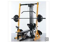 POWERTEC TECH MULTI GYM WEIGHTS IMMACULATE CONDITION, BENCH,