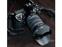 Fuji S5 Pro with sigma 17 70 2.8 f4 zoom lens