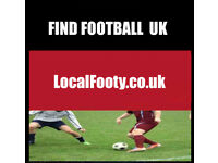 PLAYERS WANTED OF ALL ABILITIES. FIND FOOTBALL IN THE UK, JOIN FOOTBALL TEAM, FOOTBALL 5QP