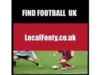 Find football all over BRIGHTON, BIRMINGHAM, MANCHESTER, PLAY FOOTBALL IN LONDON, FIND FOOTBALL 8YT