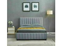 🔵💖🔴more at less price🔵💖🔴PLUSH VELVET DOUBLE SIZE LUCY STORAGE BED FRAME-CALL NOW