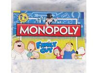 Family Guy Monopoly Brand New