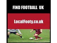 Find football all over LONDON, BIRMINGHAM, MANCHESTER, PLAY FOOTBALL IN LONDON, FIND FOOTBALL
