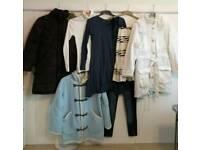 Bundle of 10 ladies coats/clothes regatta