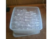 Taster cups / shot glasses. Reusable. Polycarbonate. 25ml.