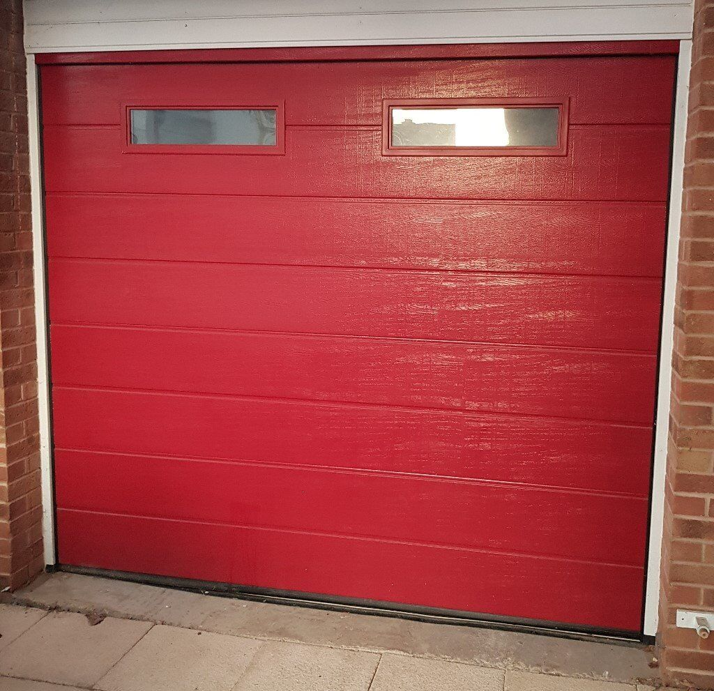 Garador Sectional Automatic Garage Door For Sale In Full Working