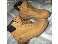 """Timberland boots 6"""" wheat"""