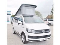 2016 66 Reg Volkswagen VW Transporter T6 102ps Pop-Top Brand New Conversion Camper Campervan