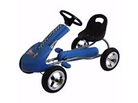 Children Go Kart Ride On Car With Pedal Rubber Wheels - NEW