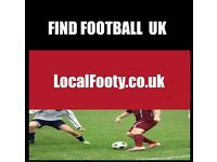 Find football all over BRIGHTON, BIRMINGHAM, MANCHESTER, PLAY FOOTBALL IN LONDON, FIND FOOTBALL 8TP