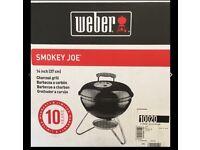 Weber Smokey Joe Premium Charcoal BBQ, Smoke & Weber Smokey Joe Carry Bag