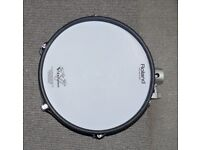 Roland V Drums PD-125X TOM / SNARE 12 inch BLUE Dual Trigger Mesh Electronic pad
