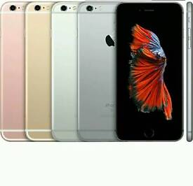 Good Condition(Unlocked) Apple Iphone 6s 64gb Rose Gold Space Grey And Silver Colour
