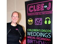 Clee-J - Female DJ, Children's Discos, Kids Parties, Children's Entertainer London and South East