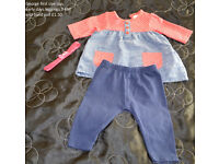 Baby girl clothes 0-3M and 3-6M really good condition