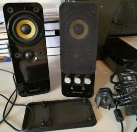 Creative Gigaworks T20 Series II computer multimedia speakers